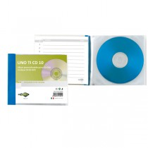 Porta CD DVD personalizzabile UnoTI CD 10 125x120mm Sei Rota