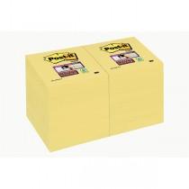 BLOCCO 90foglietti Post-it Super Sticky Giallo Canary™ 47,6x47,6mm 622-12SS-CY