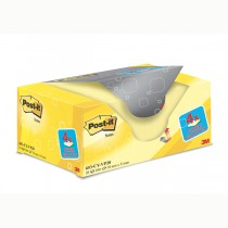 VALUE PACK 16_4 BLOCCO 100fg Post-itGiallo Canary™ 38x51mm 72GR 653CY-VP20