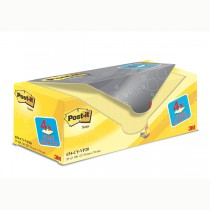 VALUE PACK 16_4 BLOCCO 100fg Post-it Giallo Canary™ 76x76mm 72GR 654CY-VP20
