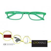 OCCHIALE DIOTTRIE _3,50 mod. SMART verde LOKKIALE