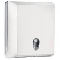 Dispenser asciugamani piegati C-Z bianco Soft Touch