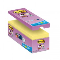 VALUE PACK 14_2 BLOCCO 90fg Post-itSuper Sticky Giallo Canary™ 76x76mm
