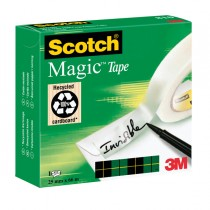 NASTRO ADESIVO Scotch Magic™ 810-2566 25mmX66mt INVISIBILE PERMANENTE