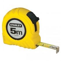 FLESSOMETRO 5MT metallo-ABS STANLEY