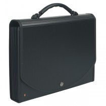 CLASSIFICATORE A 13 TASCHE 33x26cm IN PPL NERO EXACASE