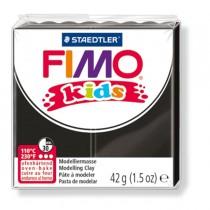 PASTA POLIMERICA FIMO KIDS 42gr NERO 9