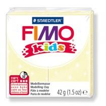 PASTA POLIMERICA FIMO KIDS 42gr GIALLO PERLATO 106