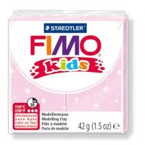 PASTA POLIMERICA FIMO KIDS 42gr ROSA PERLATO 206