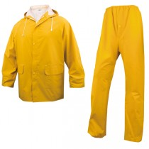 COMPLETO IMPERMEABILE EN304 Tg. XL giallo (giacca_pantalone)
