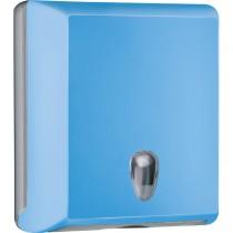 Dispenser asciugamani piegati C-Z azzurro Soft Touch