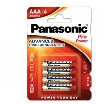 BLISTER 4 ministilo LR03 Pro Power AAA PANASONIC