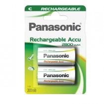 BLISTER 2 mezze torce ricaricabili READY TO USE C PANASONIC