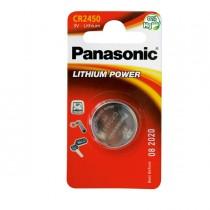 BLISTER Micropila litio CR2450 PANASONIC
