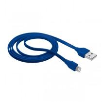 CAVO LIGHTNING PIATTO per attacco USB blu TRUST