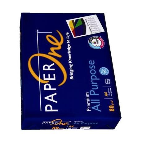 RISMA CARTA A4 PAPER ONE BLU GR.80 500ff