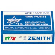 SCATOLA 1000 PUNTI ZENITH 130-E S100 (6-4) IN ACCIAIO NATURALE