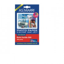 CARTA INKJET A6 (10X15CM) 265GR 20FG PHOTO LUCIDA 8870 AS MARRI