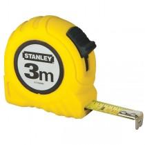 FLESSOMETRO 3MT metallo-ABS STANLEY