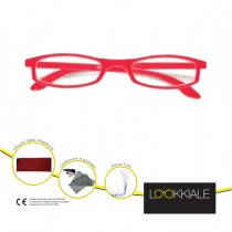 OCCHIALE DIOTTRIE _2,50 mod. SMART rosso LOKKIALE