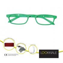OCCHIALE DIOTTRIE _2,50 mod. SMART verde LOKKIALE