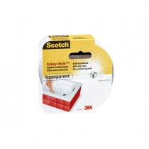 ROTOLO ADESIVO ANTISCIVOLO 25mmx4,5mt TRASPARENTE Scotch Safety-Walk