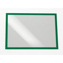 Cornice espositiva adesiva Duraframe A3 29,7x42cm verde DURABLE
